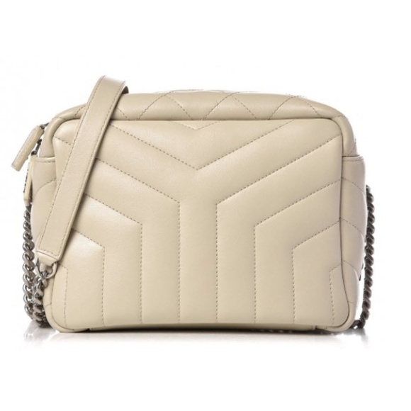 9c001e5ae194 Saint Laurent Small Loulou Quilted Bowling Bag. NWT